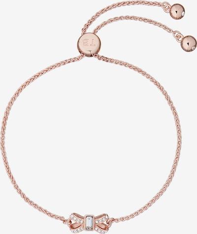 Brățară 'Crystal Sparkle Bow' Ted Baker pe auriu - roz, Vizualizare produs