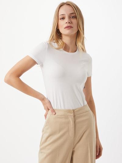 PIECES T-Shirt in weiß, Modelansicht