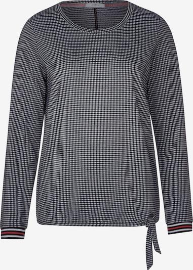 CECIL Shirt in marine / rot / weiß, Produktansicht