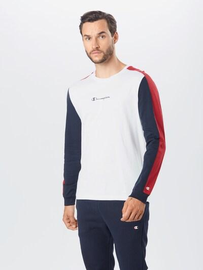 Champion Authentic Athletic Apparel Tričko - námornícka modrá / pastelovo červená / biela: Pohľad spredu