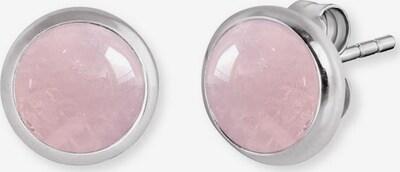 Engelsrufer Ohrstecker in rosa / silber, Produktansicht