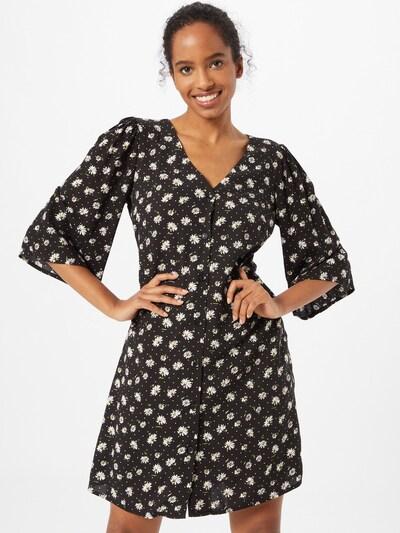 Trendyol Kleid in grün / schwarz / weiß, Modelansicht