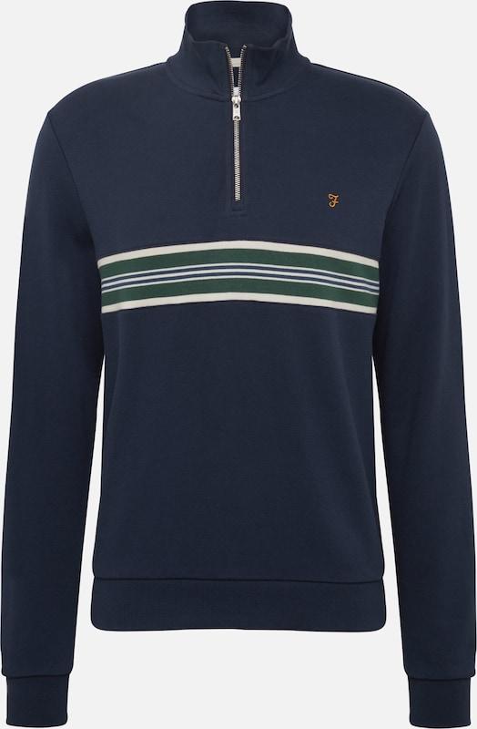 FARAH Sweatshirt 'LEEDS' in dunkelblau   dunkelgrün dunkelgrün dunkelgrün   weiß  Markenkleidung für Männer und Frauen f7c502