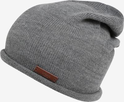 Barts Mütze 'James' in braun / grau, Produktansicht