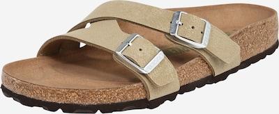 BIRKENSTOCK Sandale 'Yao Brushed' in hellgrün, Produktansicht