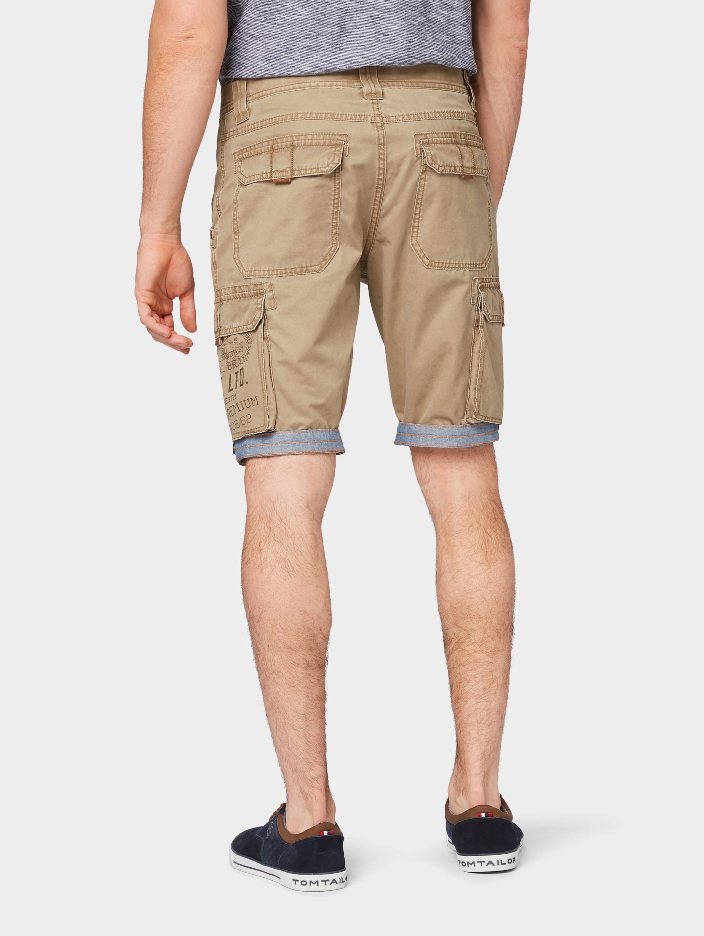 Tom Hellbeige Tailor Shorts 'josh' In EIWDH29