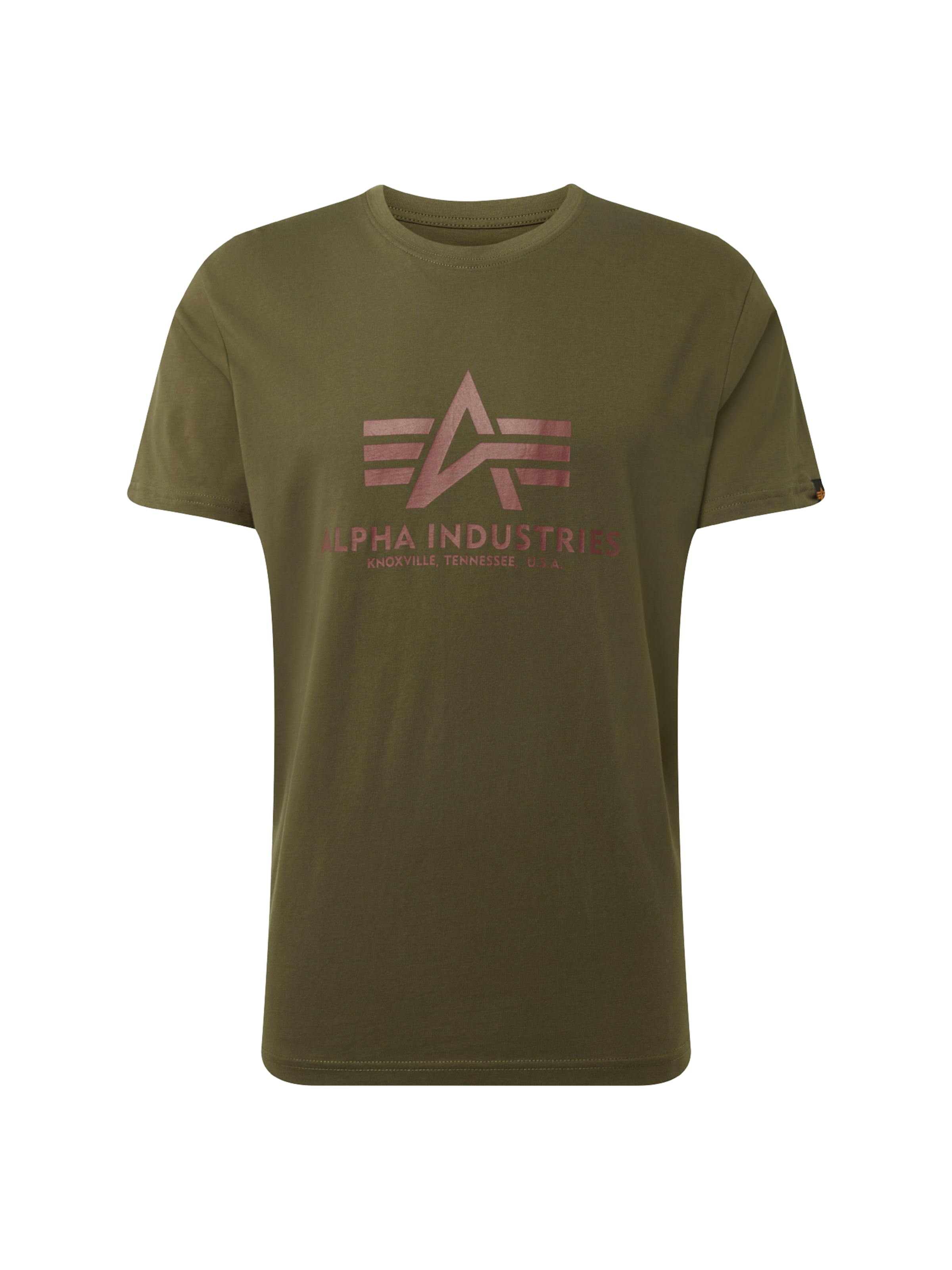 Industries Foncé T Alpha En shirt Vert ynmwv0ON8