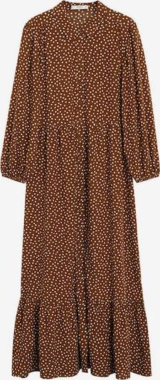 MANGO Kleid 'Apple' in karamell / weiß, Produktansicht