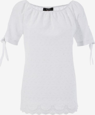 Aniston CASUAL Carmenbluse in weiß, Produktansicht