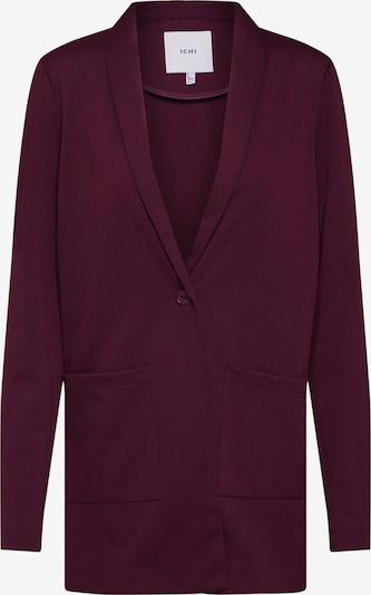 Blazer švarkas 'KATE' iš ICHI , spalva - vyno raudona spalva: Vaizdas iš priekio