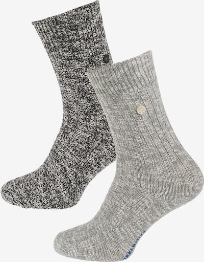 BIRKENSTOCK Socks in Grey / Dark grey, Item view