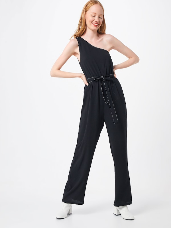 ABOUT YOU Overall 'Silene' in schwarz, Modelansicht