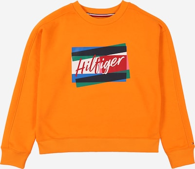 TOMMY HILFIGER Sweat-shirt en orange, Vue avec produit