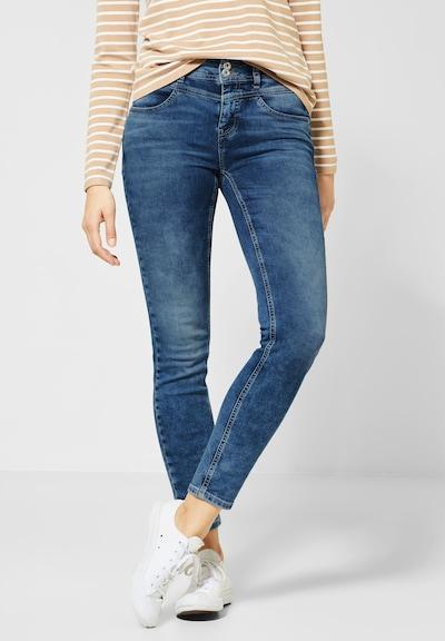 STREET ONE Jeans 'York' in blau / blue denim, Modelansicht