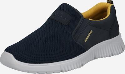 RIEKER Sneaker in marine / gelb, Produktansicht