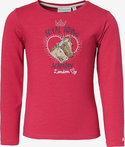 SALT AND PEPPER Langarmshirt in rot, Produktansicht