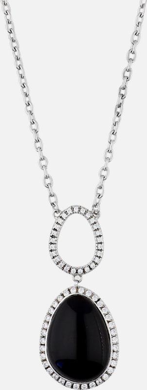 ESPRIT Halskette Nyxia mit großem Steinanhänger ELNL92444A420