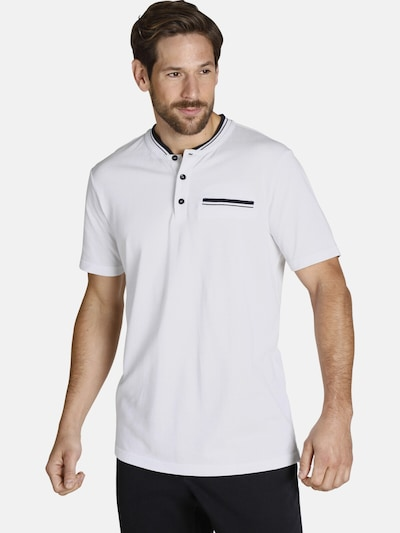 Jan Vanderstorm Shirt ' Tieki ' in de kleur Wit: Vooraanzicht