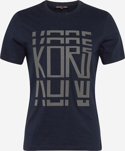 Michael Kors T-Shirt in dunkelblau / grau / weiß, Produktansicht
