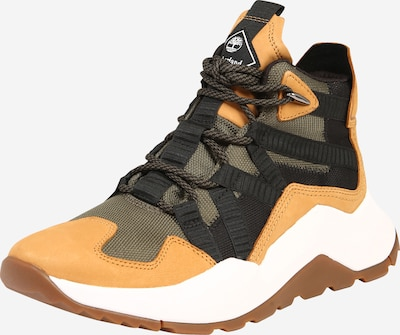 TIMBERLAND Sneaker 'Madbury Hiker' in hellbraun / oliv / schwarz, Produktansicht