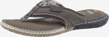 Dockers by Gerli T-Bar Sandals in Grey