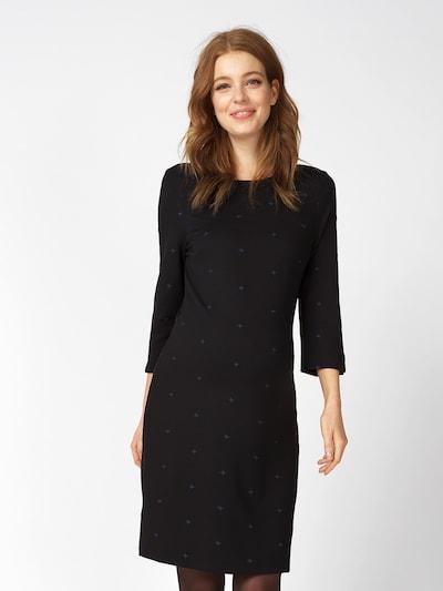 QUEEN MUM Kleid in blau / schwarz, Modelansicht