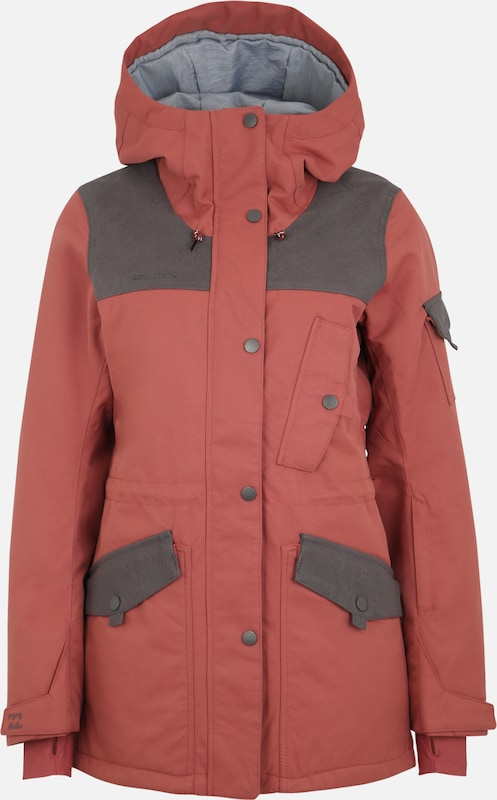 BILLABONG Outdoorjas 'scenic route' in de kleur Pastelrood, Productweergave