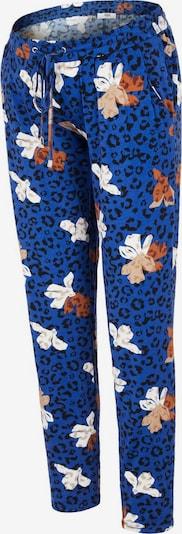 MAMALICIOUS Spodnie w kolorze niebieski / mieszane kolorym, Podgląd produktu