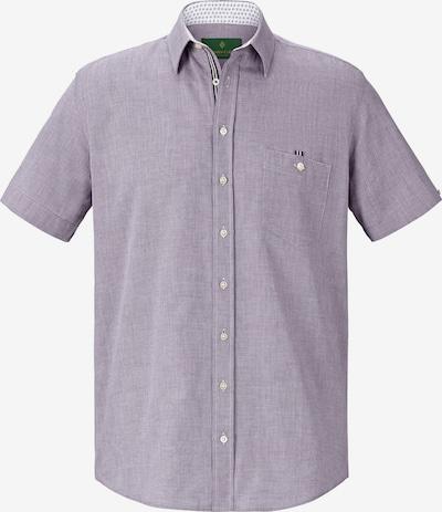 Charles Colby Hemd 'Yven' in lila, Produktansicht