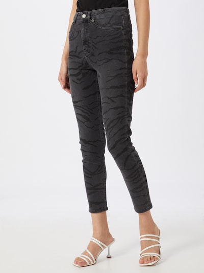 The Kooples Hose 'JEAN' in schwarz, Modelansicht