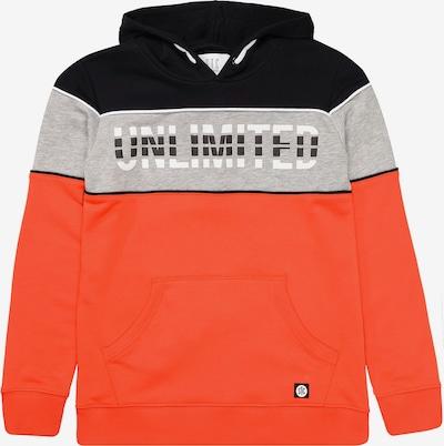 STACCATO Sweatshirt in grau / orange / schwarz, Produktansicht