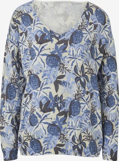 heine Pullover in blau / weiß, Produktansicht