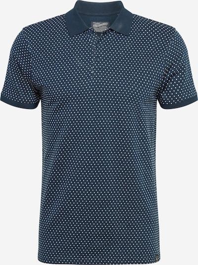 Petrol Industries Shirt in nachtblau / weiß, Produktansicht