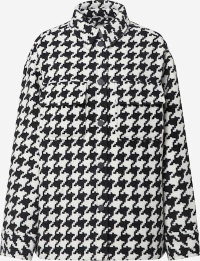 EDITED Jacke 'Sent' in schwarz / weiß, Produktansicht