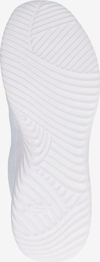 SKECHERS Baskets basses en blanc: Vue de dessous