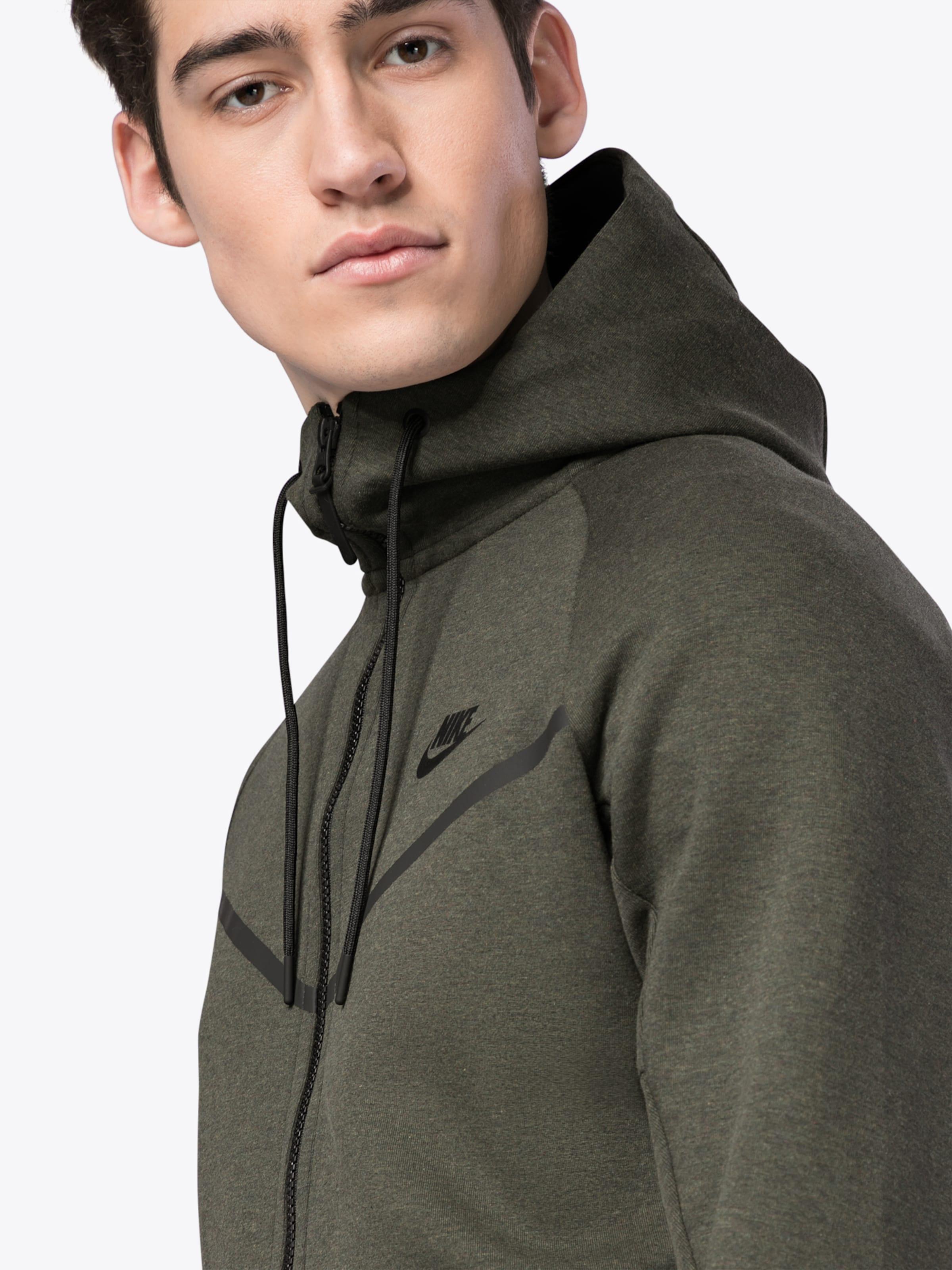Nike HOODIE Kapuzenshirt FZ' Sportswear FLC NSW WR TCH 'M Tpv1Tw6q