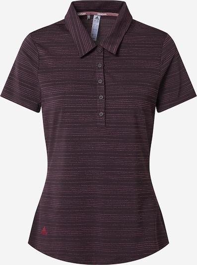 adidas Golf Sport-Shirt in lila / beere, Produktansicht