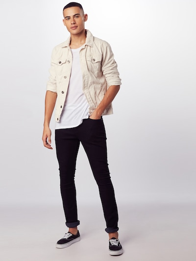 fekete 7 for all mankind Farmer 'RONNIE LUXE PERFORMANCE', Modell nézet