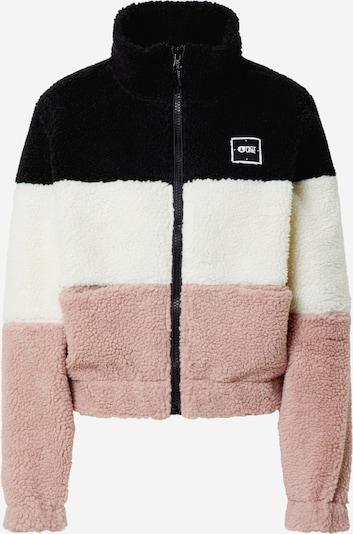 Picture Organic Clothing Veste en polaire fonctionnelle 'OCTAVIA' en rose / noir / blanc, Vue avec produit