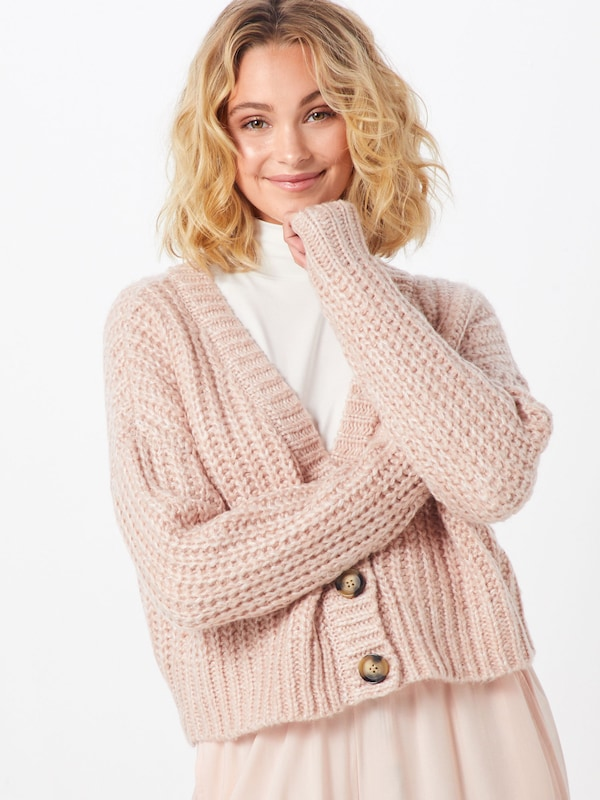 ONLY Cardigan in rosa, Modelansicht