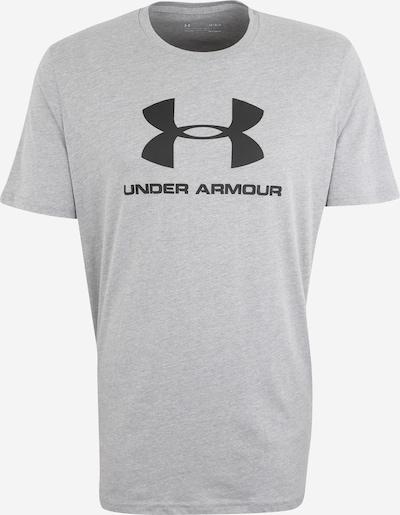 UNDER ARMOUR T-Shirt fonctionnel en gris / noir, Vue avec produit