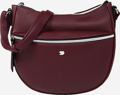 TOM TAILOR DENIM Tasche 'Rosie' in weinrot, Produktansicht