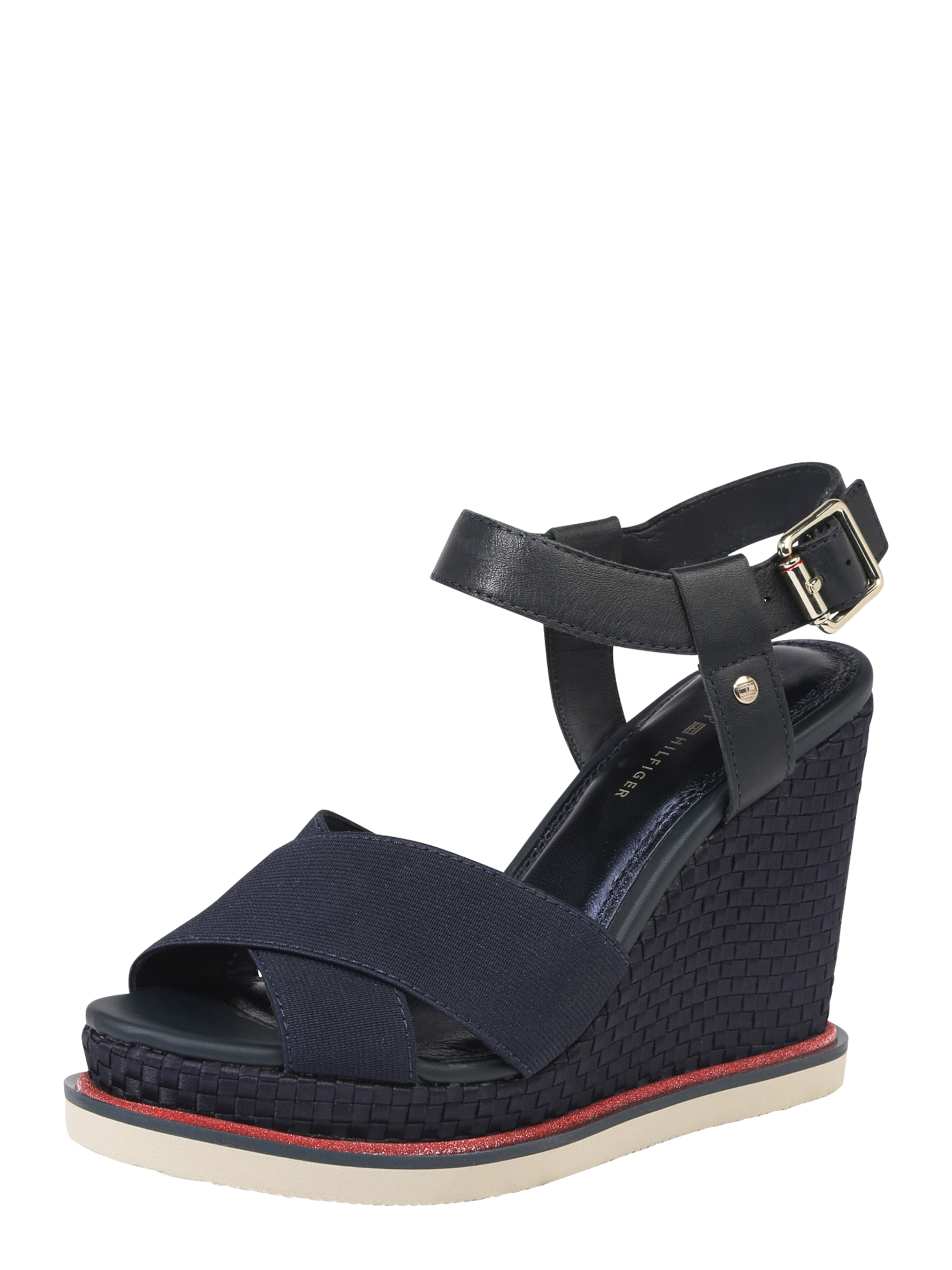 TOMMY HILFIGER Wedge-Sandalette  SPORTY STRETCH CORPORATE
