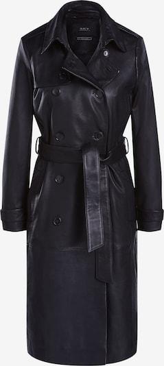 SET Mantel in schwarz, Produktansicht