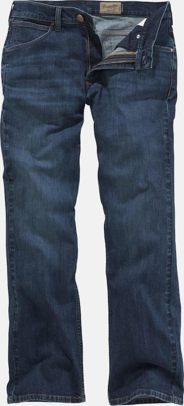 ab9e2db7739 WRANGLER Bootcut-Jeans 'Jacksville' in blue denim | ABOUT YOU