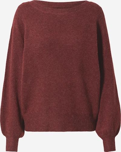 VERO MODA Pullover 'BRILLIANT' in bordeaux, Produktansicht