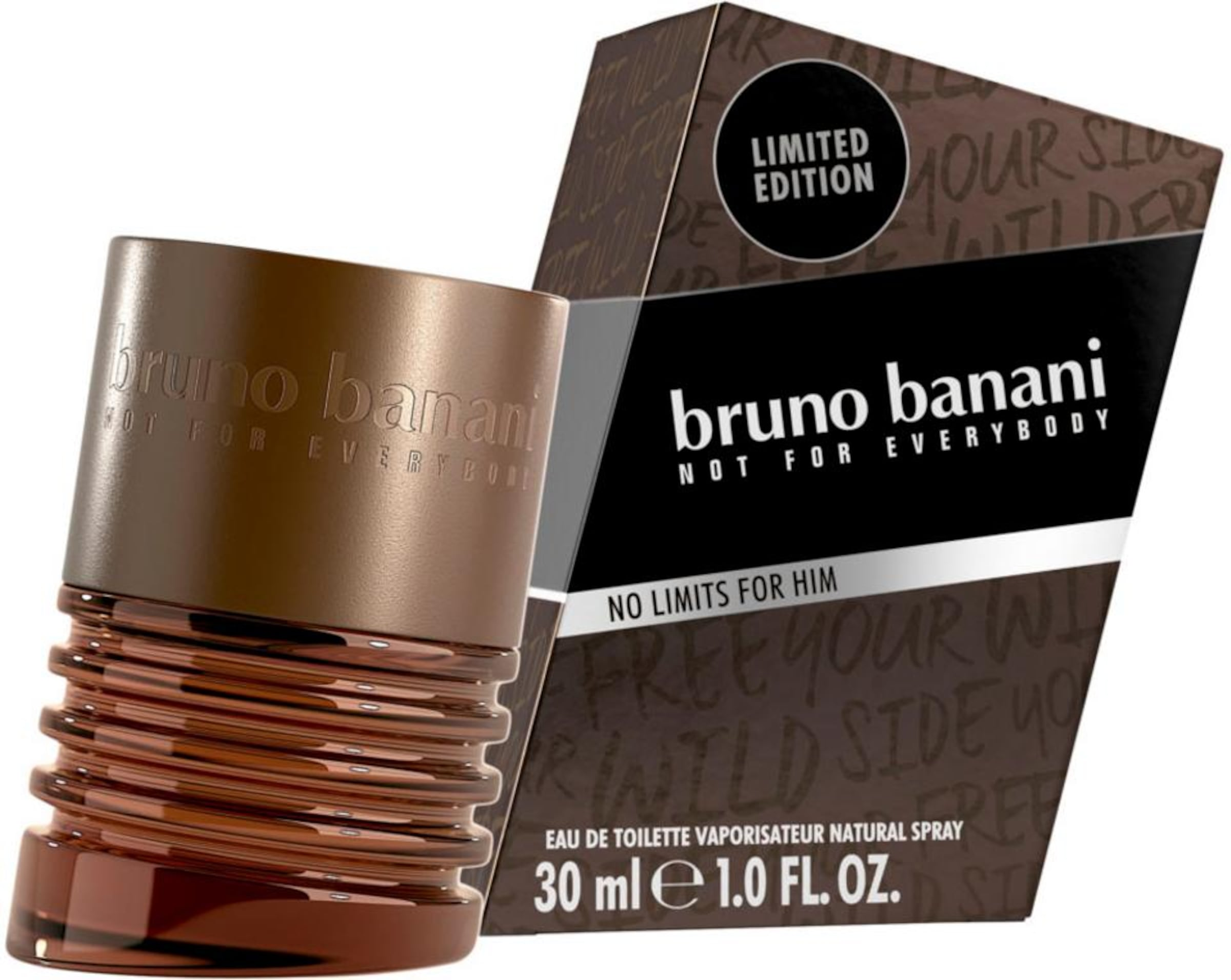 Eau In Braun Toilette 'no Bruno Banani De Limits' 4A5RjL