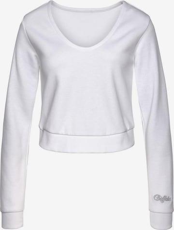 BUFFALO Sweatshirt in Weiß