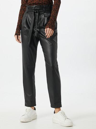 VERO MODA Bundfaltenhose 'Eva' in schwarz, Modelansicht
