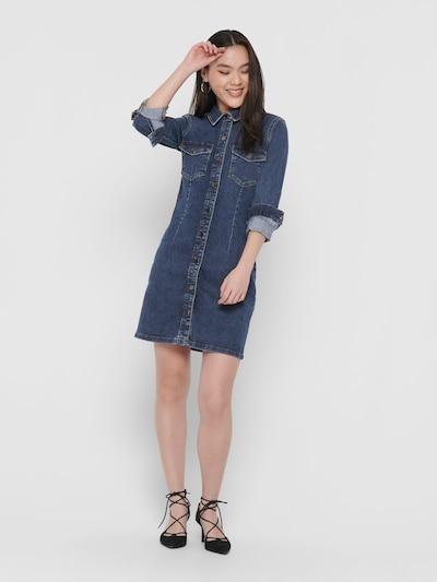JACQUELINE de YONG Jeanskleid in blue denim: Frontalansicht